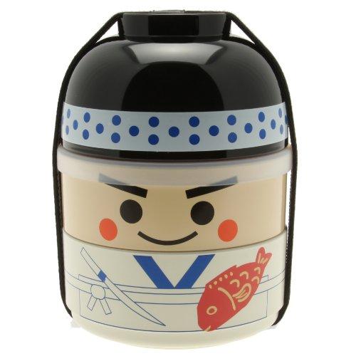 Kotobuki Sushi Chef Bento Box Set White