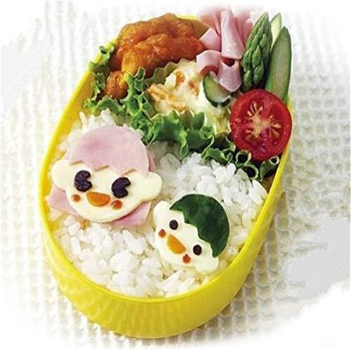 Sushi Tools - 3pcs Set Magic Face Decorative Bento Rice Mold Egg Molds Sushi Shaper Diy Cooking - Make Tools Portable Cutlery Onigiri Mold Cheese Sushi Bento Lunch Heart Teddy Rice Tool B
