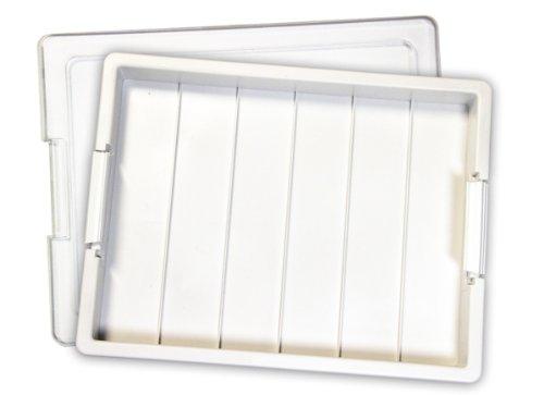 Darice 2-Piece Elizabeth Ward Bead Storage Solutions Empty Storage Tray