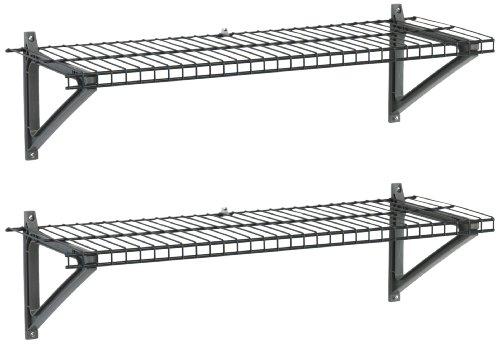 Storage Solutions 03605 Three3 Foot Utility Shelves- 2 Shelves per set