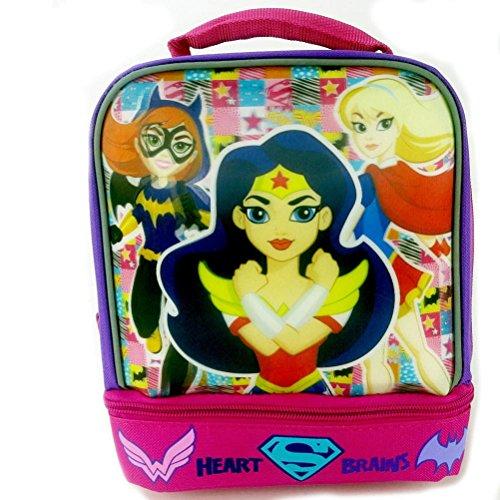 DC Comics Super Hero Girls Batgirl Wonder Women and Supergirl Lunch Box