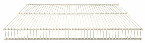 Organized Living 1710-1212-11 12 X 12 White Open Slide Closet Shelving