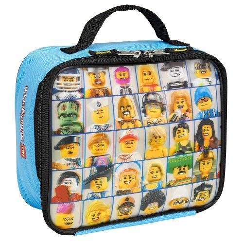 LEGO Mini Figure Lenticular Rectangular Soft Lunch Box