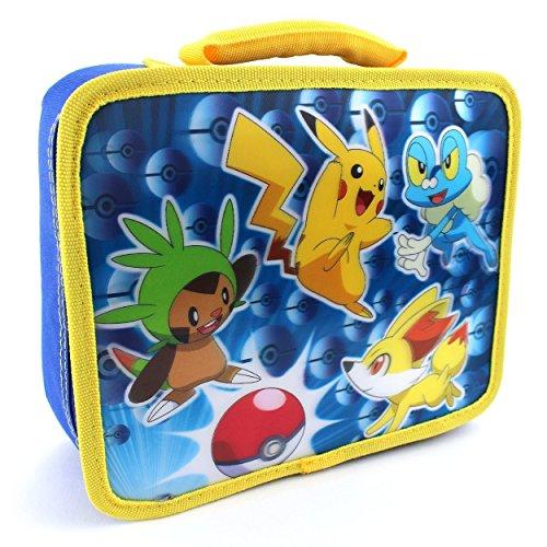 Pokemon Soft Lunch Box Blue Lenticular Pokemon
