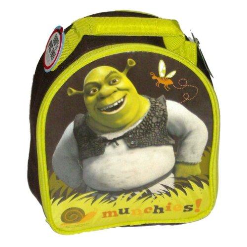 Shrek Burping Soft Lunch Box Insulated Bag Munchie Tote Green Ogre Burp Lunchbox