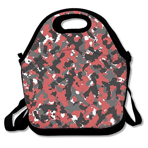 Blood Camo Lunch Bag Box Tote Bag