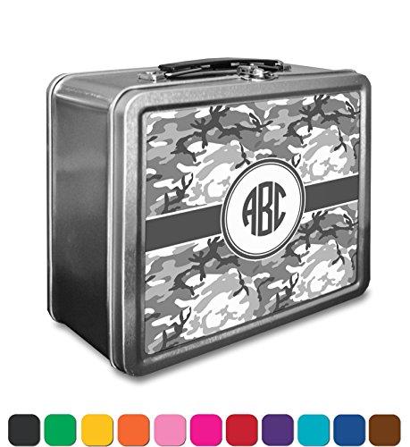 Camo Lunch Box Personalized