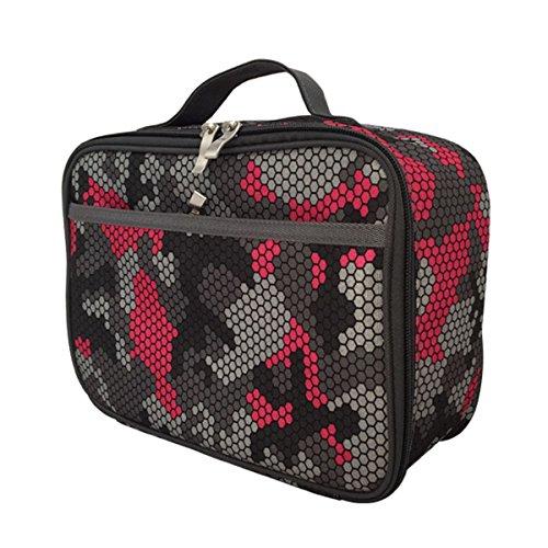 KVII Red Camo Lunch Box