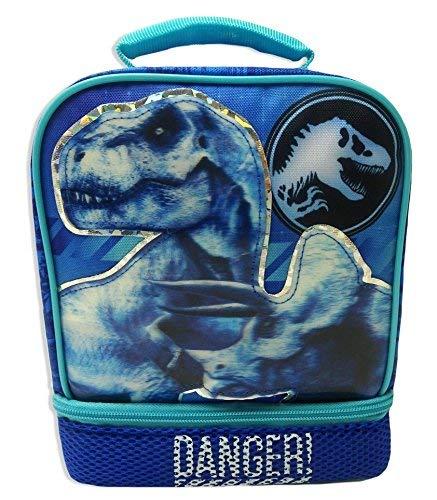 JURASSIC WORLD PARK Fallen Kingdom BPA PVC Safe Insulated Lunch Tote Bag Box