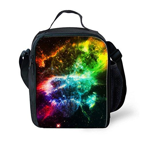 FOR U DESIGNS Medium Capacity Handbag Lunch Bags for Teen Girls Galaxy Series