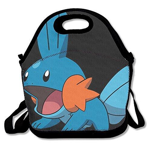 TRYdoo Mudkip Pokemon Handbag Lunch Bags Snack Bags