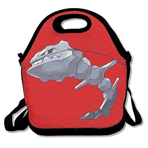 TRYdoo Pokemon Onix Handbag Lunch Bags Snack Bags