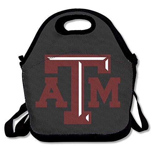 TRYdoo Texas A&M Aggies University Logo Handbag Lunch Bags Snack Bags
