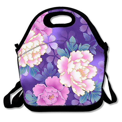 Beautiful Flower Popular Lunch Bag Picnic Bag Backpack Bag Shoulder Bag Handbag