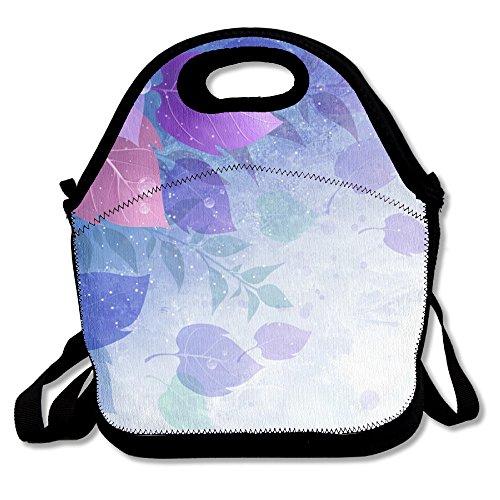 Beautiful Leaves Popular Lunch Bag Picnic Bag Backpack Bag Shoulder Bag Handbag