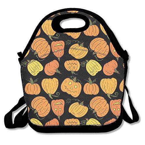 Lovely Pumpkin Head Popular Lunch Bag Picnic Bag Backpack Bag Shoulder Bag Handbag