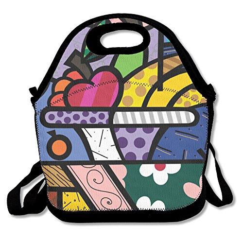 Summer Fruit Platter Popular Lunch Bag Picnic Bag Backpack Bag Shoulder Bag Handbag