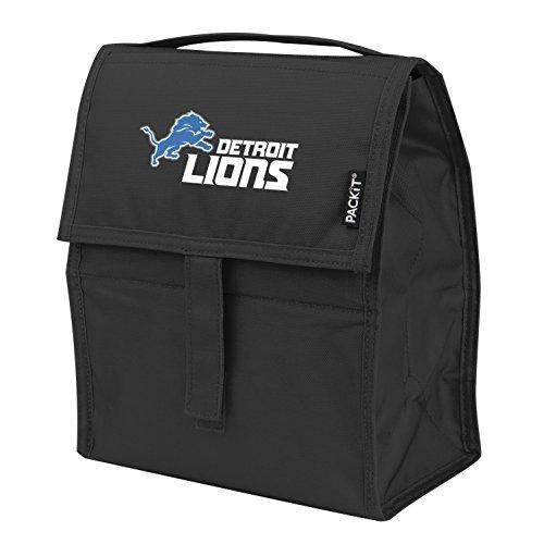 Kolder Licensed Inc NFL Detroit Lions Packit Freezable Lunch Bag