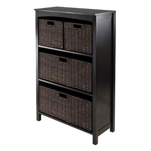 Winsome Terrace 5-Piece Storage ShelfBookcase