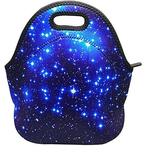 Kipten Blue Star Lunch Handbag Neoprene Lunch Box Handbag