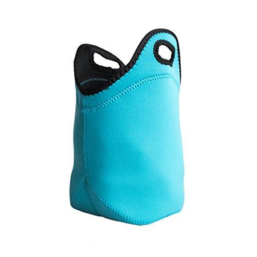 Yikaisu Waterproof Insulation Lunch Bag Lunch Box Ice Pack Lunch Handbag Picnic Bag