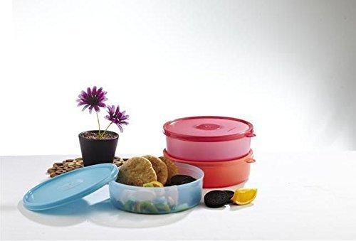 Signoraware Round Big Classic Lunch BoxAssorted Color