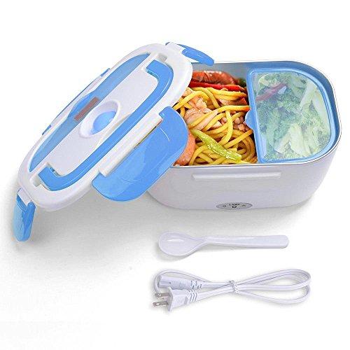 Triprel Inc Portable 15 Liter Electric Heated Lunch Box Food Warmer - Blue