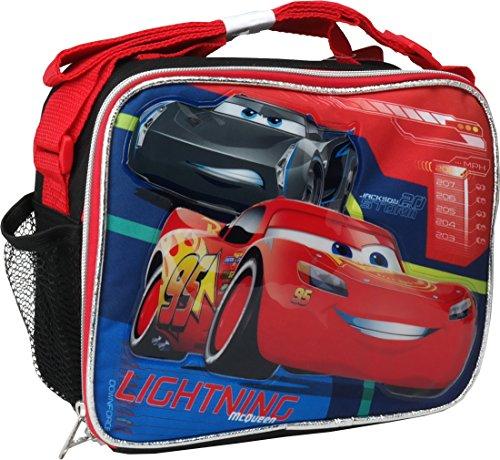Disney Pixar Cars 3 Soft Lunch Bag Kit