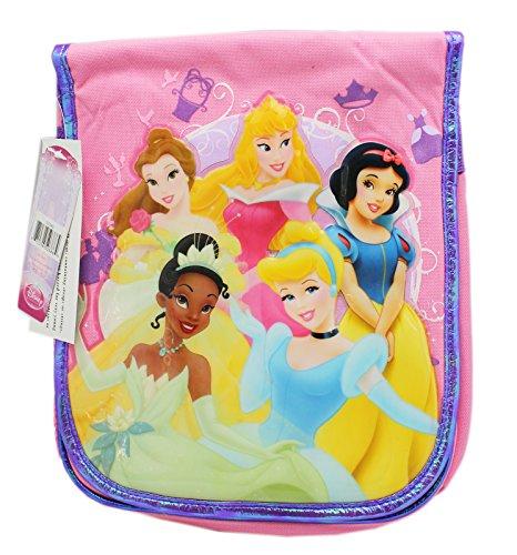 Disney Princess Group Portrait Light PinkViolet Knapsack Style Lunch Bag