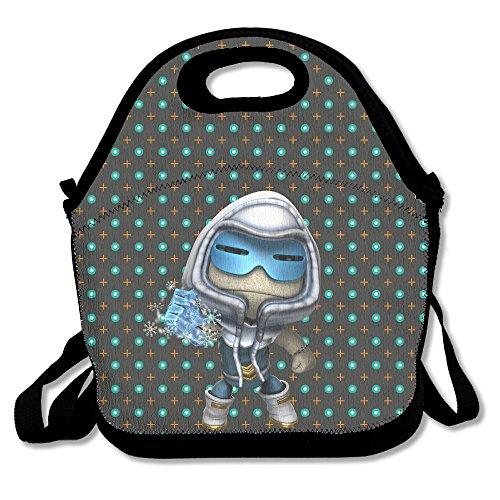 BUSHUO Captain Cold Lunch BagPicnic Bag Black