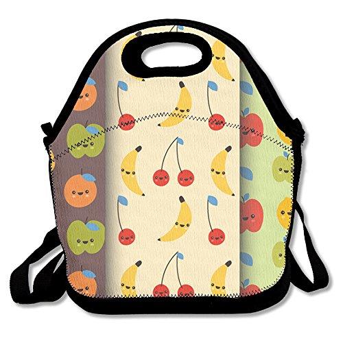 Smiling Fruit Funny Lunch Box Tote Bag For Men Women Kids - Best Travel Bag