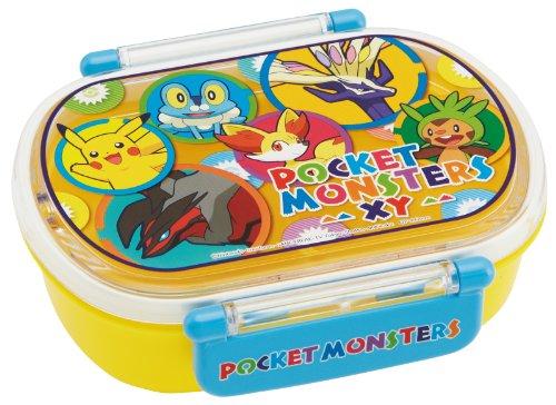 Pokemon Lunch Box Oval Pokemon XY Yellow QA2BA Dishwasher Safe Japan Import