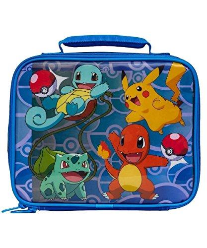 Pokemon Soft Lunch Box Pokemon Blue