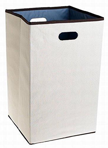 Houseuse Configurations Custom Closet Folding Laundry Hamper Natural 23-in
