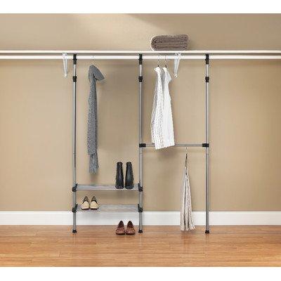 Whitmor 6779-4322 Metal Custom Closet Kit