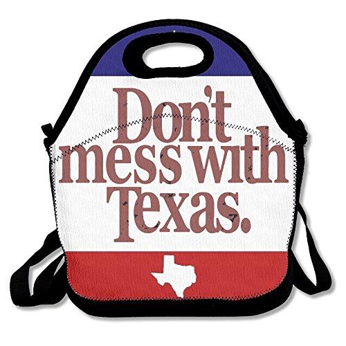 ISSOPICA Texas flag Custom Lunch Bag