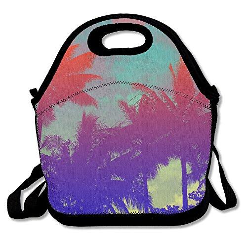 ISSOPICA Tropical Coconut Custom Lunch Bag