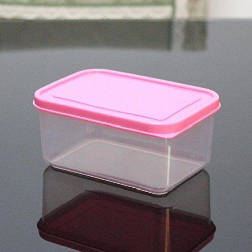 jii2030shann 520ml crisper microwaves refrigerators bowls boxes crisper lunch box microwave crisper microwave lunch box