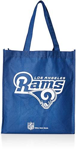 Los Angeles Rams Printed Non-Woven Polypropylene Reusable Grocery Tote Bag