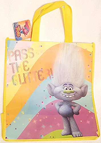 TROLLS LARGE REUSABLE BAG ~ Pass-The-Glitter
