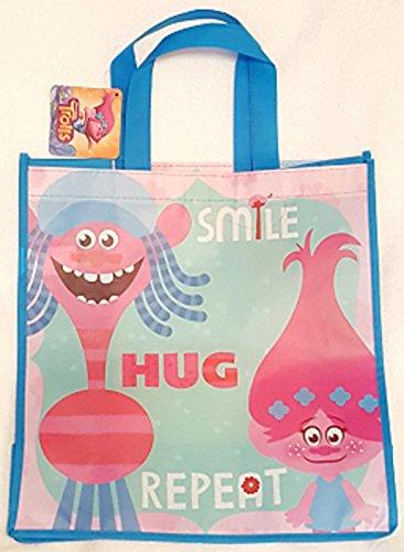 TROLLS LARGE REUSABLE BAG ~ Smile - Hug - Repeat
