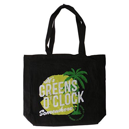 Dovewill Summer Beach Party Bag Fashion Women Handbag Shoulder Coconut Tree Canvas Tote Shopping Bag