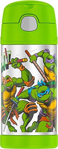 Thermos Funtainer 12 Ounce Bottle Teenage Mutant Ninja Turtles