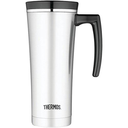 Thermos 16 Ounce Vacuum Insulated Travel Mug Black