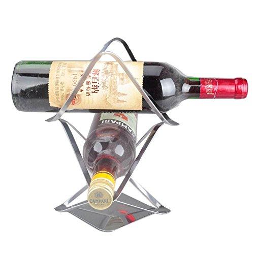 European creative wine rackStainless steel wine rack