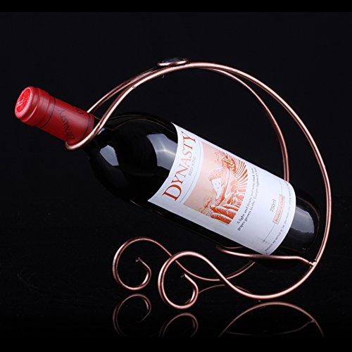 simple wine rackEuropean-style wine rack creative wine rackStainless steel wine rack-B