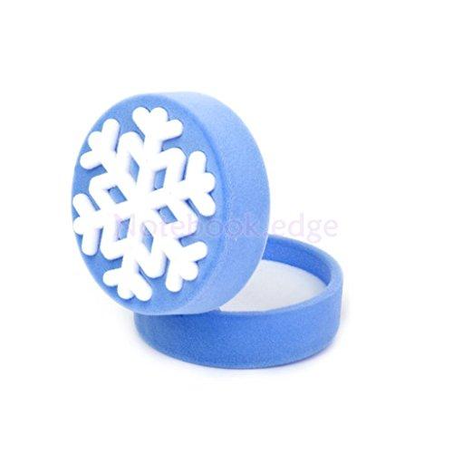 Snowflake Bracelet Earring Ring Watch Jewelry Storage Gift Box Wedding Bridal