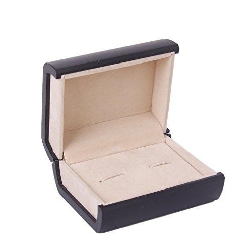 TMERY Cufflink Links Storage Gift Box Cuff Jewelry Display Case
