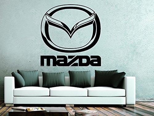Mazda Wall Decals Vinyl Sticker Emblem Logo Decal Garage Interior Studio Decor Bedroom Dorm SM115
