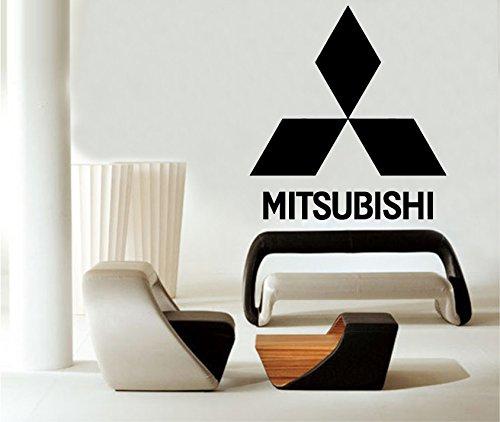 Mitsubishi Wall Decals Vinyl Sticker Emblem Logo Decal Garage Interior Studio Decor Bedroom Dorm SM116